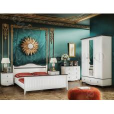 Модульная спальня Вояж - Белый матовый/Венге. До 4 модулей
