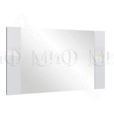 Модульная спальня Ким - Зеркало. Белый глянец/Дуб сонома