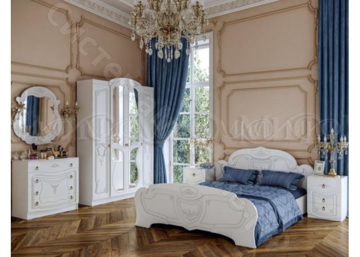 Модульная спальня Мария - Белый глянец. До 6 модулей