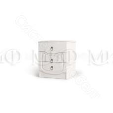 Модульная спальня Мария - Тумба. Белый глянец