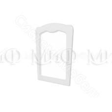 Модульная спальня Натали - Зеркало. Белый глянец/Белый
