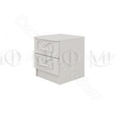 Модульная спальня Натали 1 - Тумба. Белый глянец