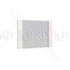 Модульная спальня Ника - Зеркало. Белый глянец/Венге