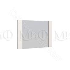 Модульная спальня Нэнси - Зеркало. Белый глянец/Венге
