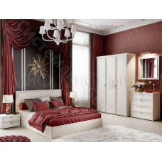 Модульная спальня Престиж 2 - Сандал светлый. До 8 модулей