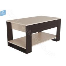 Стол журнальный N12 - Венге/Дуб молочный