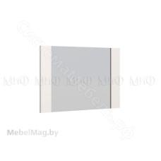 Модульная спальня Нэнси новая - Зеркало. Белый глянец/Белый
