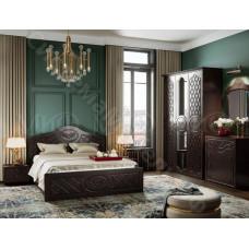 Модульная спальня Престиж - Шоколад/Венге. 6 модулей
