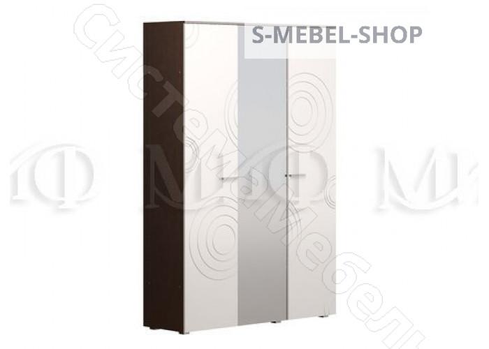 Модульная спальня Ника - Туалетный стол. Белый глянец/Венге