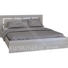 Спальня Комфорт - Кровать 910. Сантана сокат/Беленый дуб