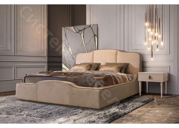 Кровать Paradise - 1,6 с подъемным механизмом. Пепельно-коричневый