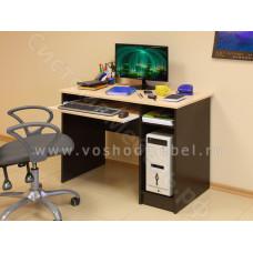 Компьютерный стол ПКС 2 - Венге/Дуб молочный