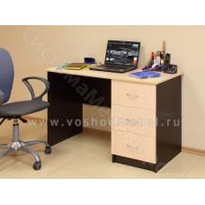 Компьютерный стол ПКС 3 - Венге/Дуб молочный