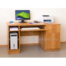 Компьютерный стол ПКС 4 - Миланский орех
