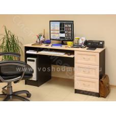 Компьютерный стол ПКС 7 - Венге/Дуб молочный