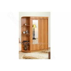 Шкаф 2-х дверный Холл - Миланский орех