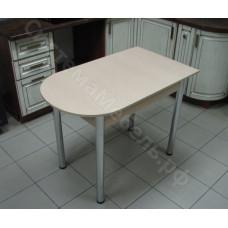Стол пристенный раскладной ЛДСП - Дуб сонома светлый