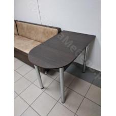 Стол пристенный раскладной ЛДСП - Венге