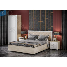 Модульная спальня Амели - Дуб сонома/Белый. 8 модулей