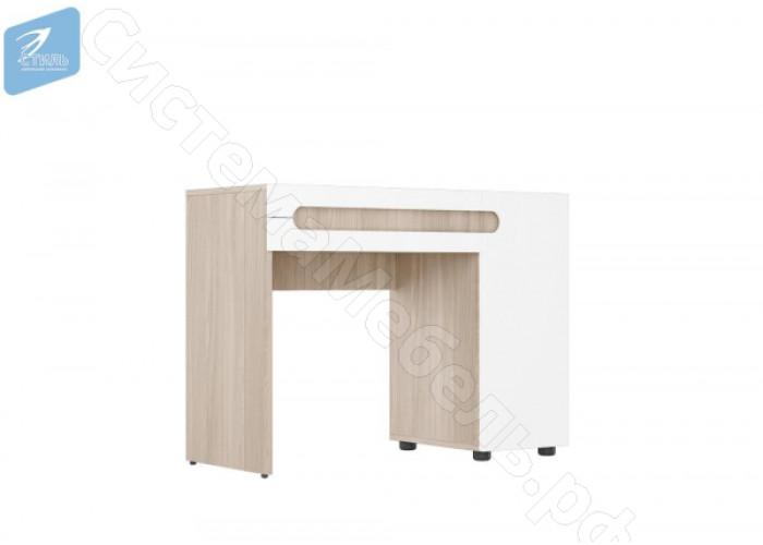 Спальня Палермо 3 - Стол туалетный. Ясень шимо светлый/Белый
