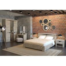 Модульная спальня Хилтон - Дуб юкон/Гранж. До 16 модулей