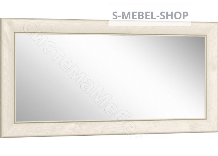 Спальня Мартина - Зеркало к комоду комбинированному. Дуб приморский/Дуб юкон