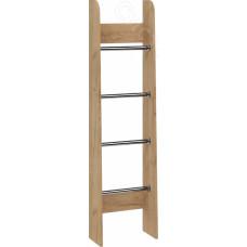 Спальня Ральф - Лестница приставная. Дуб золотой крафт/Ателье темное
