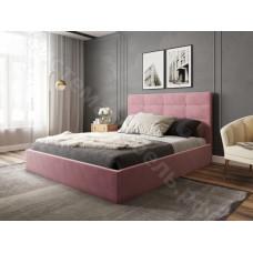 Кровать Соната - Велюр Розовый