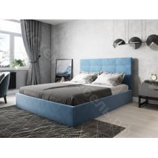 Кровать Соната - Велюр Синий