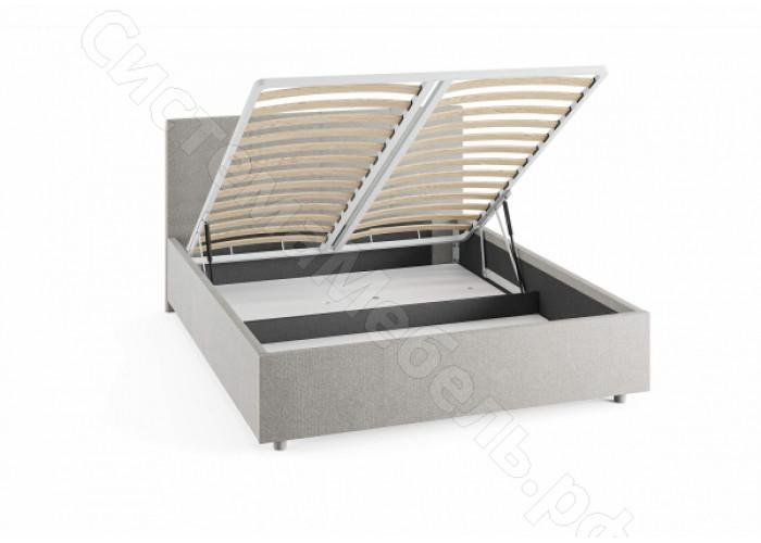 Кровать Прато с подъемным механизмом - Рогожка
