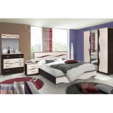 Спальня Гардония - Венге/Дуб молочный. 5 модулей