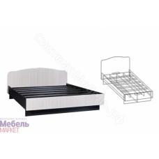 Спальня Светлана - Кровать на 800 мм. Венге/Дуб молочный
