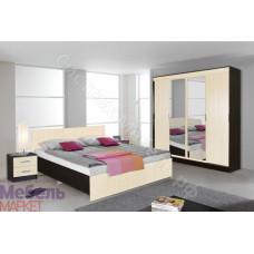 Спальня Светлана - Венге/Дуб Молочный. 3 модуля