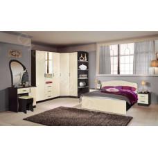Модульная спальня Светлана - Венге/Дуб Молочный. До 33 модулей