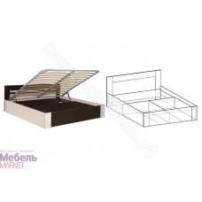 Спальня Софи - Кровать с подъемным механизмом 1800 мм. Венге/Дуб молочный
