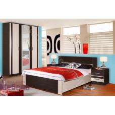 Модульная спальня Софи - Венге/Дуб молочный. До 15 модулей