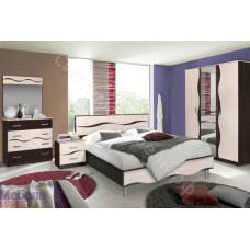 Модульная спальня Гардония - Венге/Дуб молочный. До 7 модулей