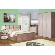 Модульная спальня Берта - Ясень Шимо темный/Ясень Шимо светлый. До 26 модулей