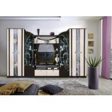 Гостиная модульная Мадрид 4 - Венге/Дуб молочный. До 3 модулей