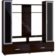 Стенка мебельная (гостиная) - 2 Венге
