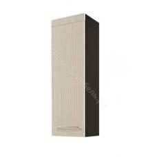 Гостиная Фелиция - Шкаф 1003. Дуб венге/МДФ белый глянец