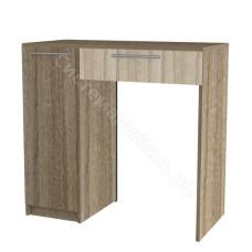 Спальня Сильва - Туалетный столик. Ясень шимо темный/Ясень шимо светлый