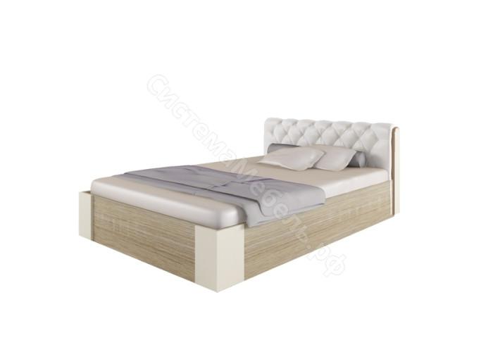 Спальня Сильва - Кровать 1,4*2,0 мягкая спинка без поъемного механизма