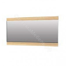 Прихожая Нюанс - Панель с зеркалом 1200. Материал Дуб венге/зебрано нюанс/зебрано сахара