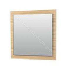 Прихожая Нюанс - Панель с зеркалом 900. Дуб венге/зебрано нюанс/зебрано сахара