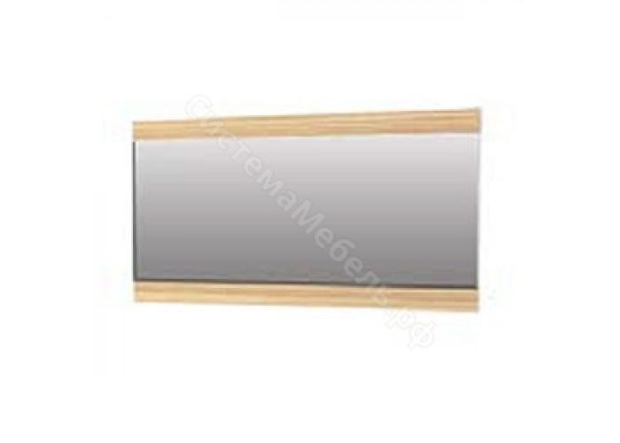 Прихожая Нюанс - Панель с зеркалом 1200. Дуб венге/зебрано нюанс/зебрано сахара