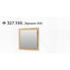 Прихожая Веста - Панель с зеркалом 900х900. Дуб сонома светлый/дуб сонома темный