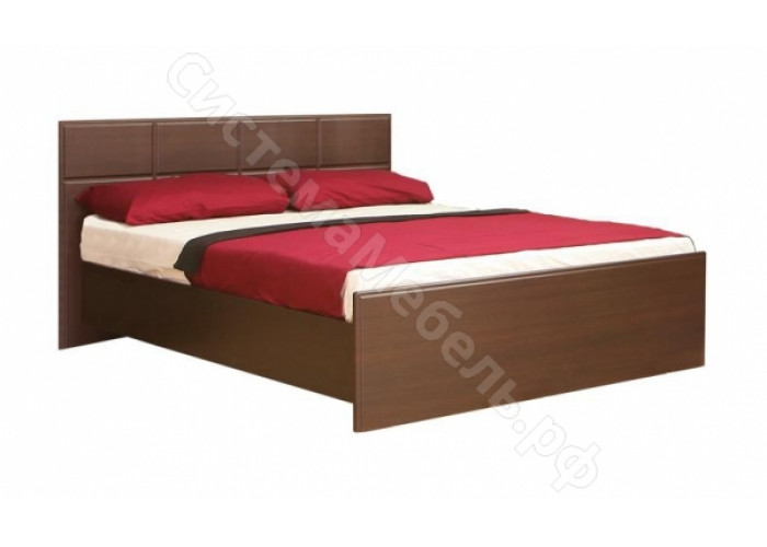 Спальня модульная Палермо - Кровать 1,4. Венге Дуглас