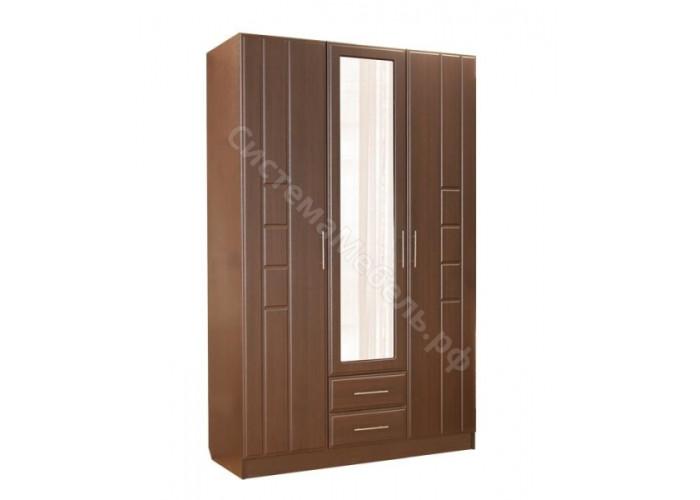 Спальня модульная Палермо - Шкаф 3-дверный. Венге Дуглас