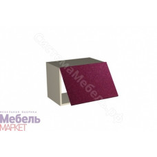 Шкаф-антресоль ШАВ-50 Шанталь-2 Малиновый металлик